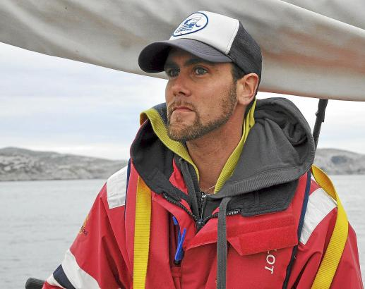"""""""Ein Job, der gut zu meinem Lebensgefühl passt"""": Kevin Lomba heuert am liebsten auf Segelyachten an."""