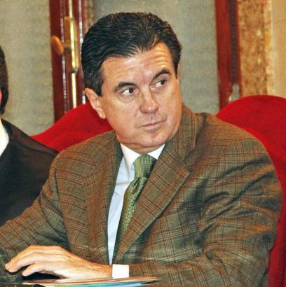 Das Archivfoto zeigt Jaume Matas in einem der Verfahren gegen ihn.
