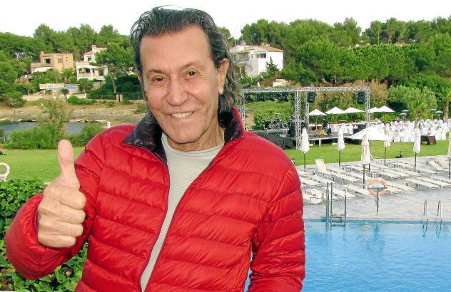 Ein Weltstar im Blau-Resort in Portopetro. Der aktuelle Besuch von Albert Hammond auf Mallorca dauerte nur rund 24 Stunden.