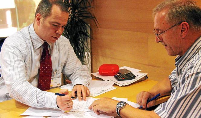 Björn Pagers von der Deutschen Rentenversicherung Bund berät umfassend und kompetent - hier bei den Beratungstagen 2013.