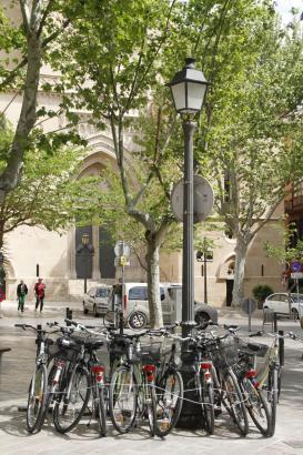 Palma soll bald noch mehr Möglichkeiten für Fahrradfahrer bieten.