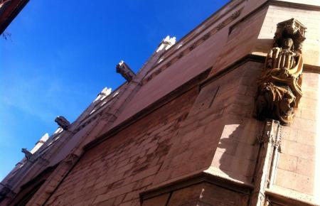 Ein Besuch auf dem Dach der Lonja