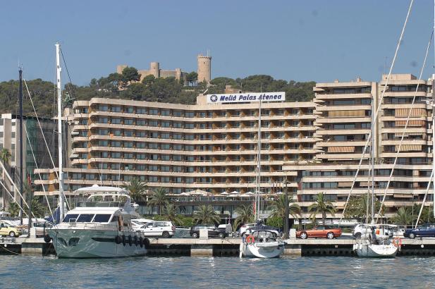 Das Hotel Meliá Palas Atenea befindet sich am Paseo Marítimo in Palma.