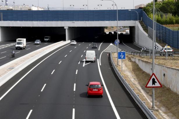 Freie Fahrt in Palma – der Verkehr läuft heute flüssiger als noch 2001.