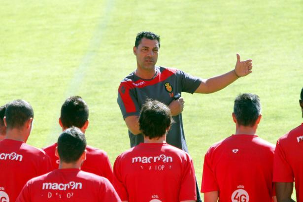 Javier Olaizola hatte in der Schlussphase der vergangenen Saison die Verantwortung für Real Mallorcas Zweitliga-Team.