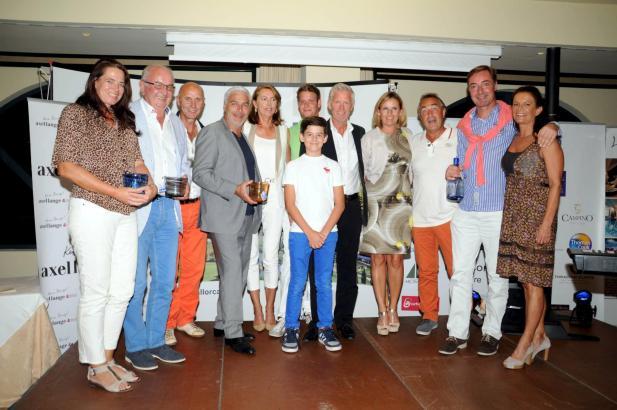 Die sportlichen Sieger der MM-Golftrophy 2013.