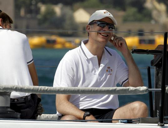König Felipe VI. ist selbst begeisterter Segler. Gelernt hat er es auf Mallorca.