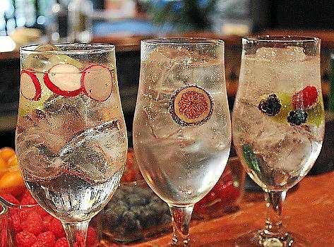 Gin Tonic mit Radieschen, Feigen oder Waldfrüchten? Für Rafael González kein Problem.