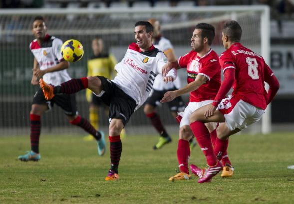 Real Mallorca und Real Murcia beim bislang letzten Aufeinandertreffen in der 2. Liga: Es endete 2:2.