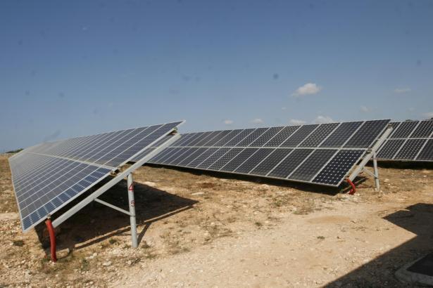 Solarpark auf Ibiza (Archivfoto).