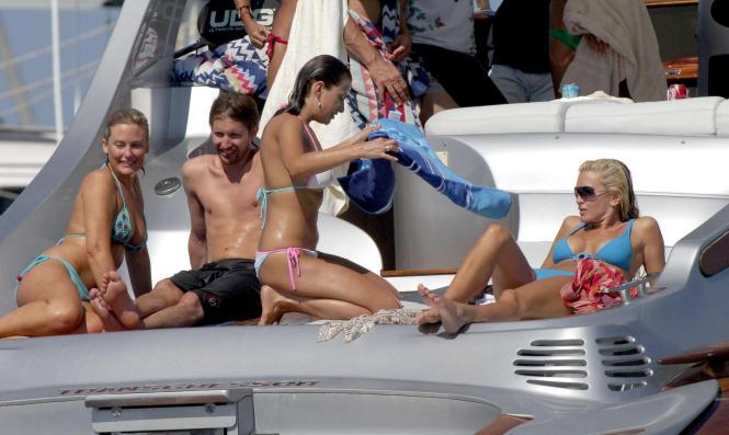 Da war noch nichts mit Hochzeit: James Blunt 2006 während eines Urlaubs auf Ibiza.