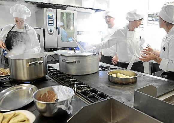 Viele Ausländer sind in Hotellerie und Gastronomie beschäftigt.