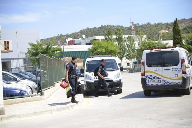 Die Zentrale der Lokalpolizei von Calvià.
