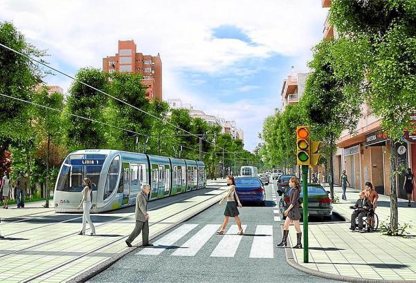 Die Pläne zum Bau einer Straßenbahn in Palma liegen derzeit in der Schublade.