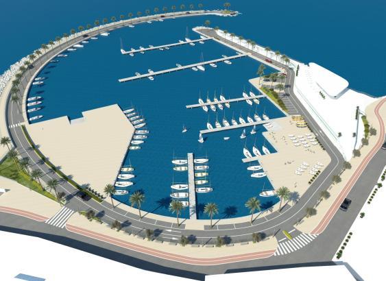 Der Hafen von Molinar, wie er in Zukunft aussehen könnte.