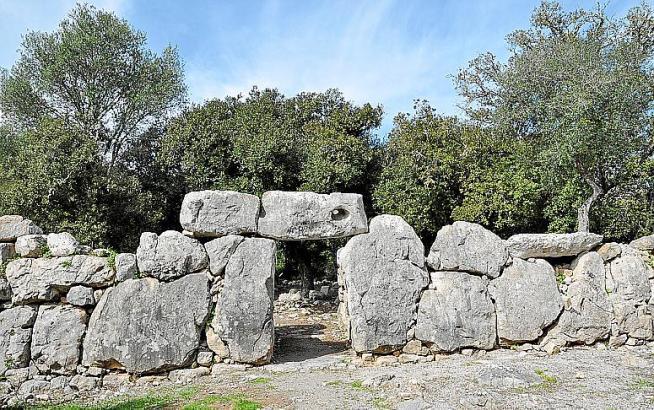 Eine der spektakulärsten Fundstätten: Ses Païsses bei Artà.