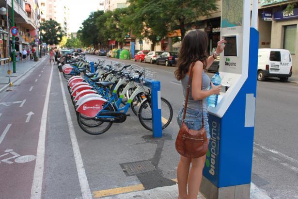 Jetzt auch für Urlauber zugänglich: Palmas Leihfahrräder.