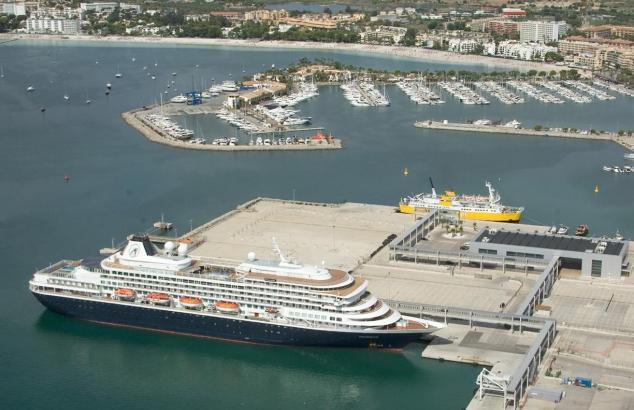 Port d'Alcúdia will mehr Ozeanriesen in den Norden von Mallorca locken.cken.