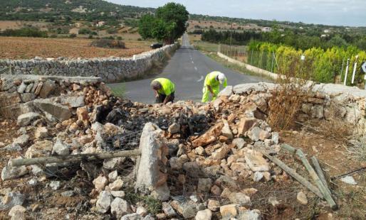 Das Unglück ereignete sich auf der Landstraße Manacor-Son Carrió, bei Kilometer 4,4.