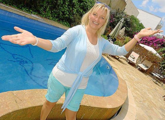 Vor wenigen Wochen machte Birgit Langer Urlaub im Hotel Posada de Lluc in Pollença, wo das große Foto entstand.