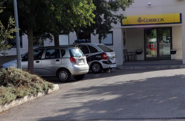 Der tote Affe wurde in einem Paket auf dem Postamt in Palmas Gewerbegebiet Can Valero entdeckt.