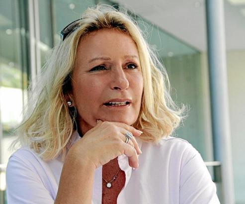 Die Journalistin entdeckte Mallorca vor mehr als 20 Jahren für sich, hat eine Bleibe bei Andratx. Dort verbringt Christiansen ei