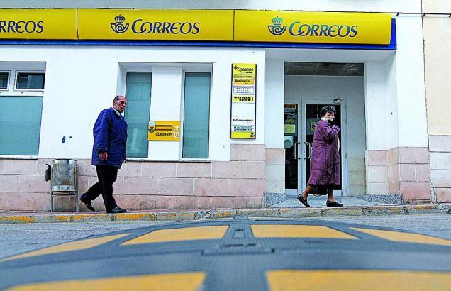 Die Bewohner von Las Palmeras müssen derzeit zum Postamt nach Arenal, um ihre Briefe abzuholen.