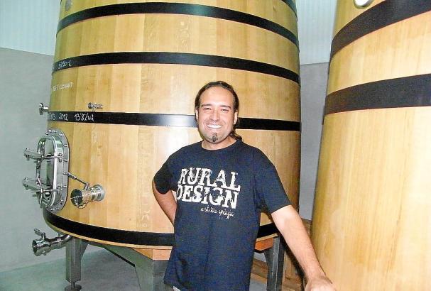 Önologe Daniel Morales zeichnet für die Weine von Es Fangar verantwortlich.