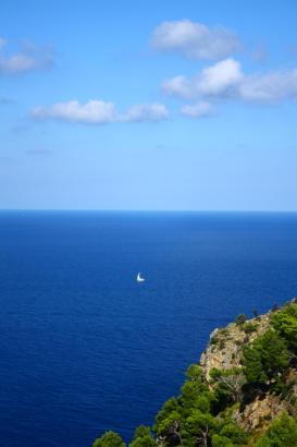 Auf Mallorca scheint die Sonne auch im Oktober, wie dieses Foto beweist.