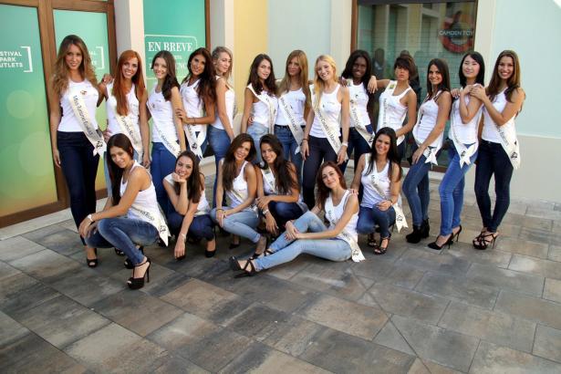 Die 19 Kandidatinnen auf einen Blick.