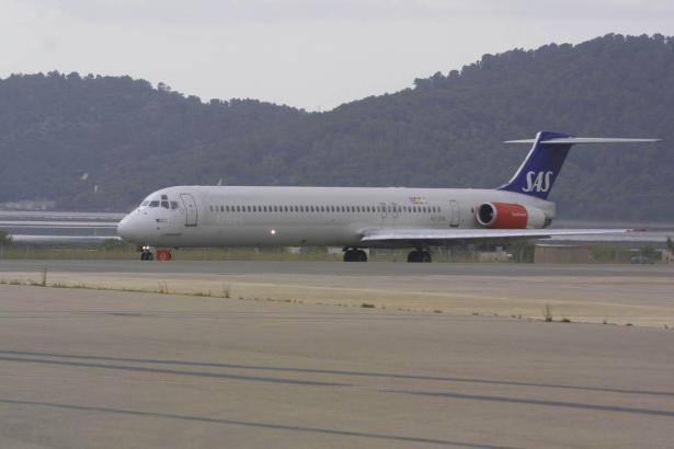 In diesem Winter steuern mehr Flieger der SAS Mallorca an.