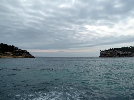 Regenwolken wie auf diesem Archivbild dominieren den Himmel übder Mallorca.