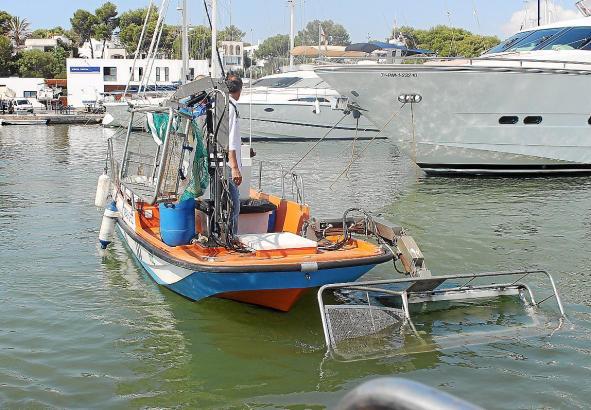 Die Balearen-Regierung lässt sich die Müllboote mehr als eine Million Euro kosten.