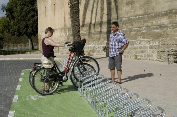 Der Radweg sollte Alcúdia mit Muro verbinden.