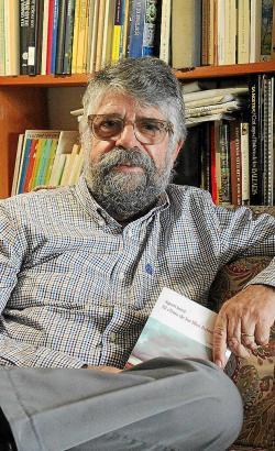 Seit Jahrzehnten ein ausgewiesener Kenner des Balearenwetters und jetzt auch noch Buchautor: Der Meteorologe Agustí Jansà aus Pa
