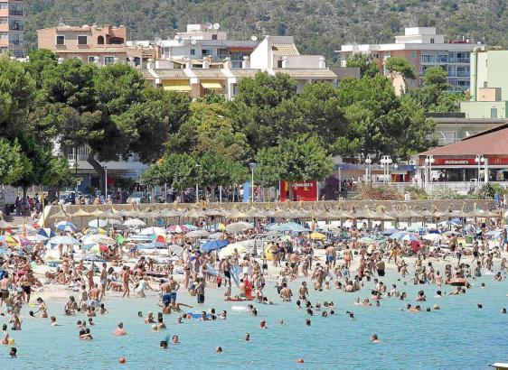 In den Tourismusgemeinden von Calvià, wie hier in Palmanova, ist der Bedarf nach der Legalisierung von bisher nicht erfassten Be