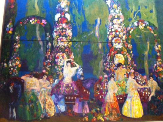 """Das """"größte"""" Werk Anglada-Camarasas in der Dauerausstellung des Caixaforums in Palma."""