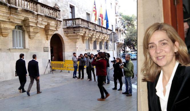 Am Gericht in Palma herrschte großer Medienrummel.