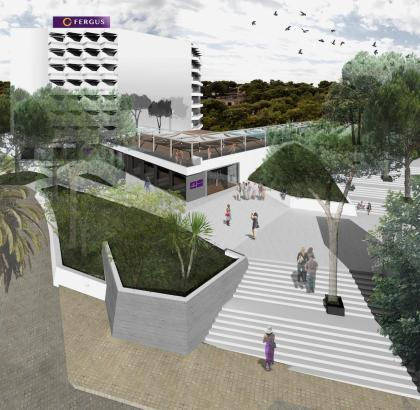 So soll das künftige Resort in Magaluf einmal aussehen.