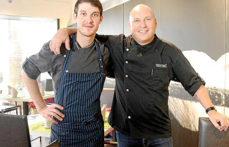 Kreatives Erfolgsduo: Im Simply Fosh leiten Marc Fosh (rechts) und der junge Deutsche Marcel Reß gemeinsam die Küche.