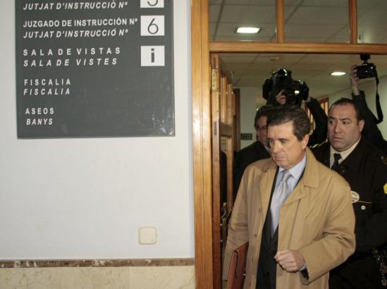 Jaume Matas bei einer Aussage vor Gericht in Palma de Mallorca.