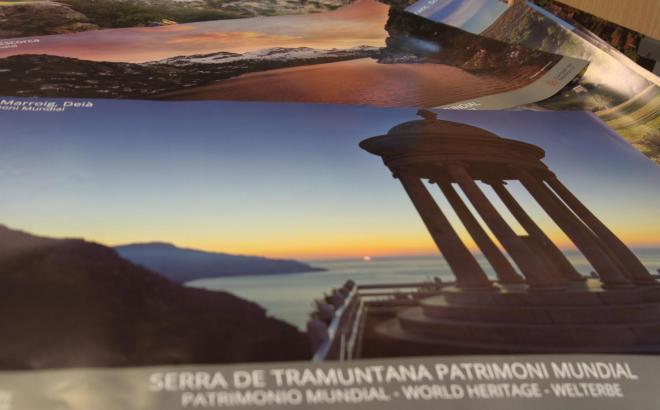 Der Landsitz Son Marroig in Deià ist eines der Plakatmotive.