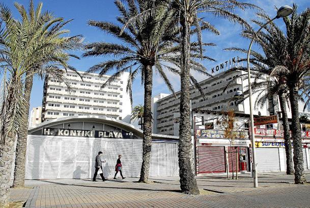 Das Kontiki Hotel an der Playa de Palma wurde nach Ultima-Hora-Angaben unter Alltours-Regie modernisiert.