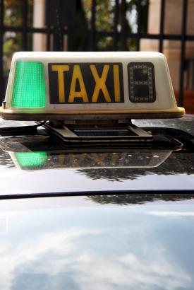 Mallorcas Taxifahrer haben in den Wintermonaten wenig zu tun.