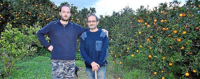 Mit vereinten Kräften und wenig Marketing: Juan Picornell  (l.) mit seinem Vater Toni.