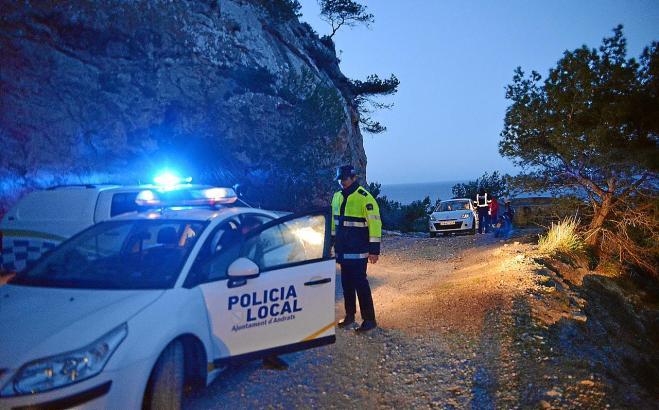 Rettung im Morgengrauen: Die Polizei half zwei jungen Frauen aus ihrer Verirrung.