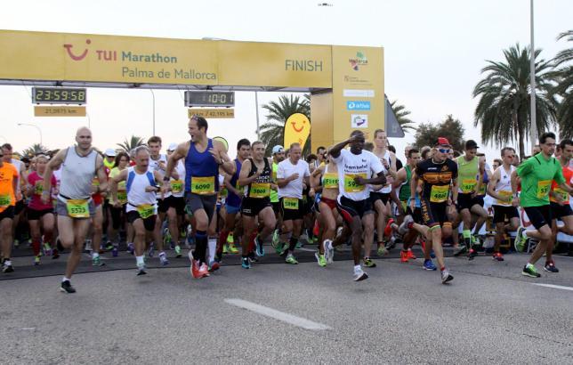 Der TUI-Marathon lockte jedes Jahr Tausende Sportler an. Hier ein Bild von 2013.