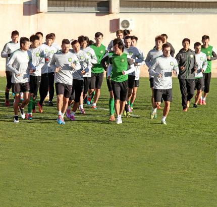 Die erste Einheit auf der Insel: Manzanos aktueller Klub Beijing Guoan.