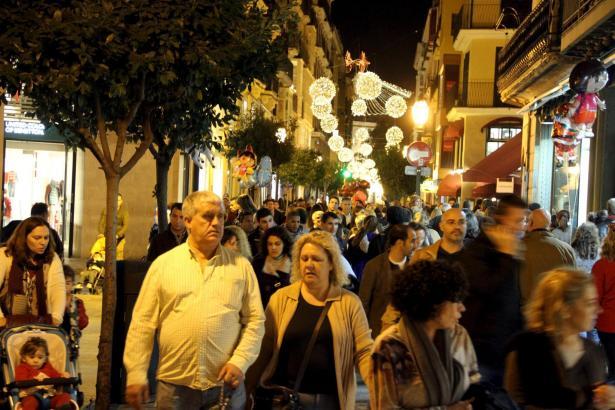 Viele Shopper, vor allem in Palma: Die Stadt und ihre Läden waren schon lange nicht mehr so voll wie vor den Feiertagen.