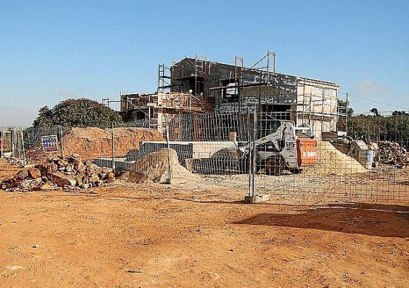 Dieses Haus ist laut GOB-Aktivisten kein Um-, sondern ein Neubau, mitten in einer Schutzzone.